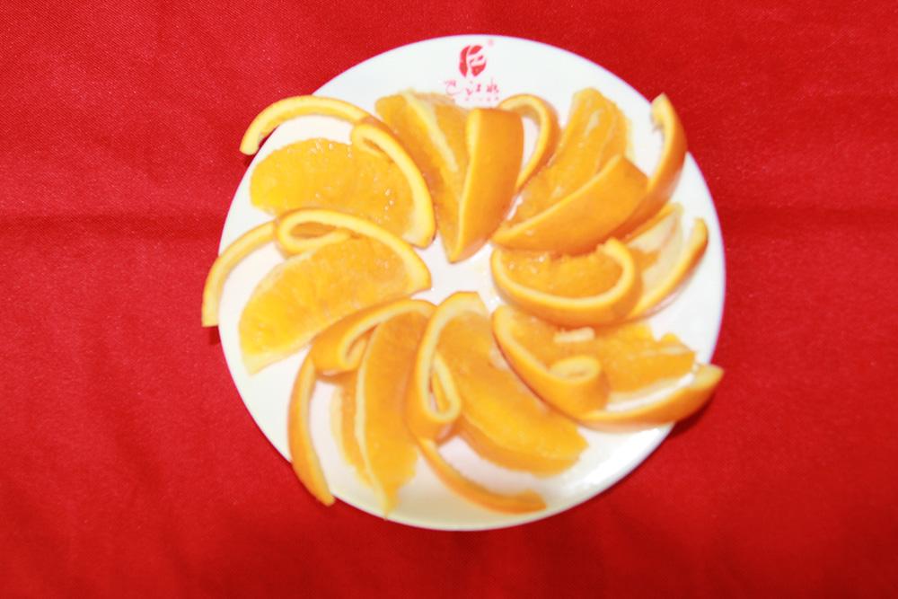 菜品橙子果盘